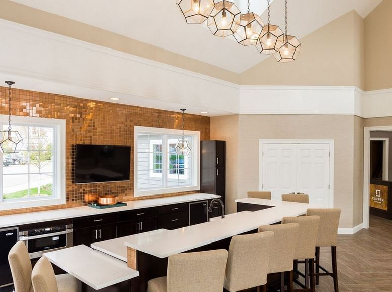 Copper Kitchen and Entertainment Space