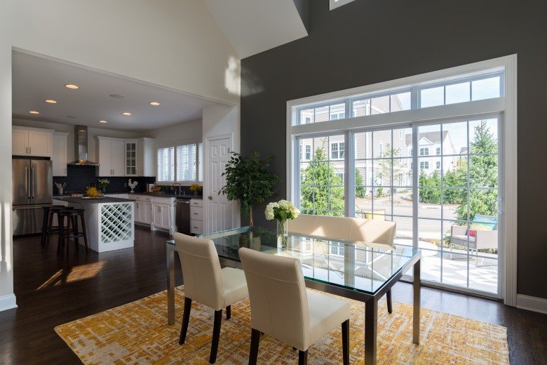 The Sage Duplex Dining Room at Copper Square, Bethel, CT