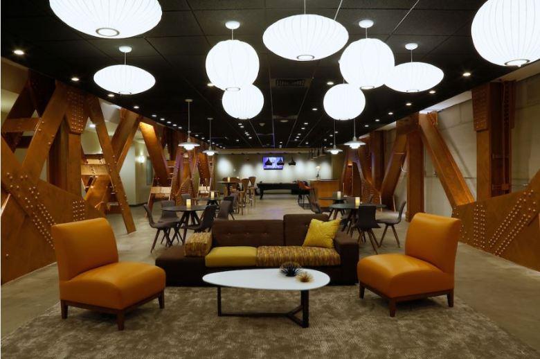RetroSpectra Resident Lounge
